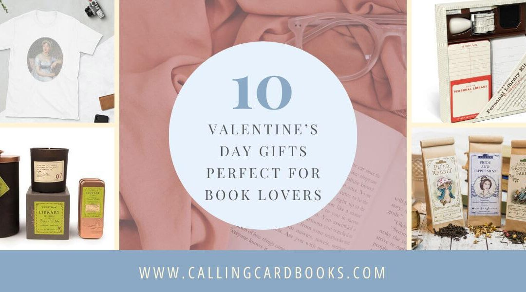 10 Valentine's Day Gifts Perfect for Book Lovers