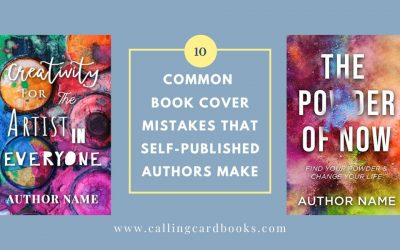 10 Common Book Cover Mistakes that Self-Published Authors Make