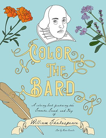 color the bard blue cover